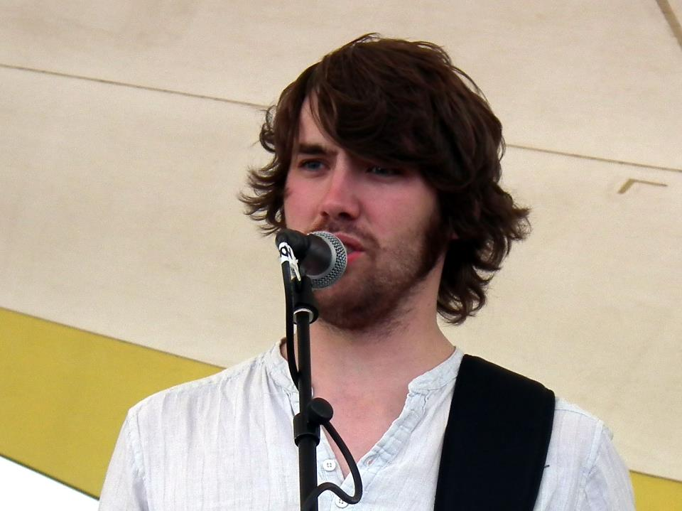 Dan at Shrewsbury Folk Festival